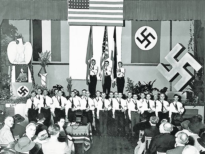 nazi fascism corruption war anti-semitism history Hollywood crime